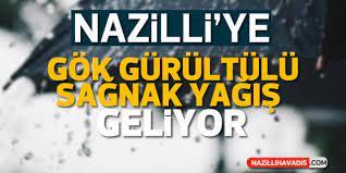 Tarih belli oldu! Nazilli'ye ne zaman yağmur yağacak?