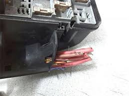 peugeot 206 1998 to 2006 lx sun roof fuse box petrol manual 1 2 3 4 5