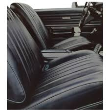 1968 chevelle ss 2 dr hdtp preembled interior kit bucket