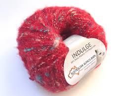 indulge yarn red 1689