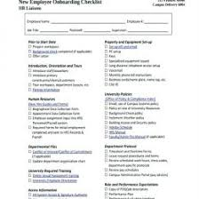 Onboarding Template Excel Process Template Procedure Checklist Excel Free Onboarding Word New