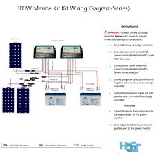 300 watt 12 volt monocrystalline solar marine kit hqst solar retail