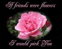 if friends were flowers i