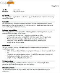Ministry Job Description Template – Appnews