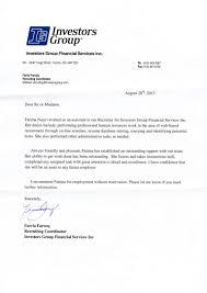 investors group letter