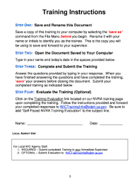 Sample Training Evaluation Form Templates - Fillable & Printable ...