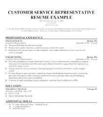 Resume Objective For Customer Service Representative Gorgeous Sample Cv Customer Service Manager Resumes For Retail Objective