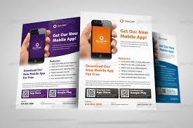 The Flyer Ads Mobile Flyer Design Flyer Design App Mobile Apps Promotion Flyer Ad