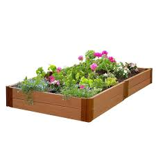 frame it all raised garden bed. Fine Garden Frame It All Two Inch Series 4 Ft X 8 11 In Throughout Raised Garden Bed A