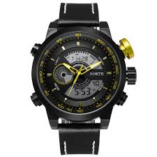 online buy whole x men watches from x men watches men watches 2016 luxury brand north double movement alarm male clock quartz watch wristwatch leather
