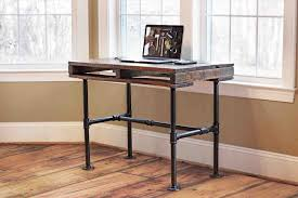 industrial furniture diy. Plain Industrial Industrial Furniture Industrial Pallet Pipe Desk Reviveriesrhreviveriescom  Simple Custom Diy Wood Console Table With Storage Made On Furniture Diy R