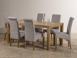 grey fabric dining room chairs glamorous decor ideas grey fabric