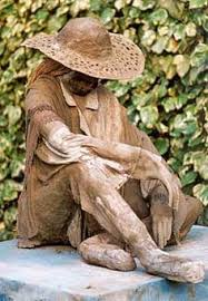 garden figures. How To Construct Life Size Figures Using Cement - Video And Link Pdf Garden C