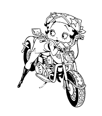Betty Boop Christmas Coloring Pages