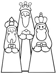 Disegno Dei Re Magi Da Stampare Gratis E Colorare Per Bambini Facile