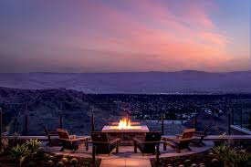 beautiful ritz lighting style. A Seating Area With Fireplace Overlooking Valley At Sunset Beautiful Ritz Lighting Style B