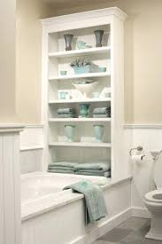 bathtub storage tweet pin it bathtub storage shelves