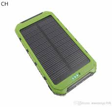 SH-High quality LED Dual USB solar power bank Panel Battery portable Charger 10000 mah For xiaomi Mobile Phone 3-TY SH High Quality Solar Power Bank
