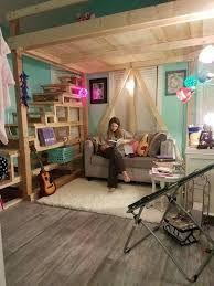 Girls Loft Bedroom Ideas