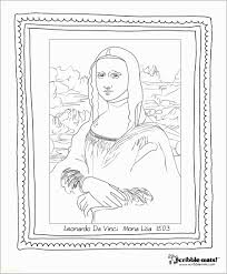 Mona Lisa Coloring Page Best Of How To Draw Mona Lisa Best Of