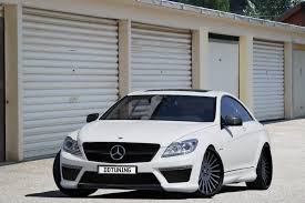 Dejo Design & Tuning: Mercedes CL63 AMG white carbon