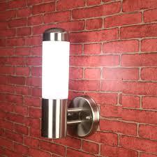 stainless steel lighting fixtures. art craft stainless steel led aisle wall sconce outdoor spot lights lamp acrylic e27 garden yard fixture light ip65 lighting fixtures