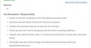 Best International Trade Manager Job Description – Resume Example ...