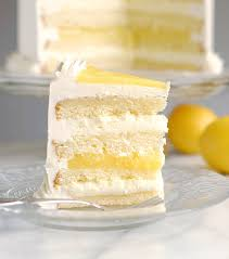 Luscious Lemon Mousse Cake Layer Cake Perfection Baking Sense