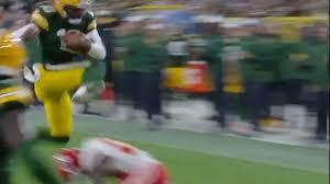 Packers Qb Depth Chart Video Packers 4th String Qb Manny Wilkins Hurdles Chiefs