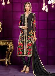 Fashion Designing Salwar Kameez 2013 Latest Pakistani Indian Straight Cut Salwar Kameez 2018 19