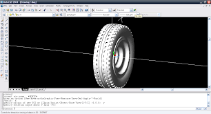 Cool Autocad Designs How To Design The Tyre And Rim In Autocad 2004 Grabcad