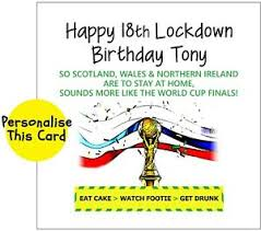 Check out our awesome and unique collection of humorous birthday wishes. Football Funny Birthday Greeting Card Tier Lockdown Pandemic Personalised Virus Ebay