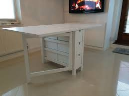 Norden Gateleg Table Used Norden Gateleg Table White 26 89 152x80 Cm In Wc2h London