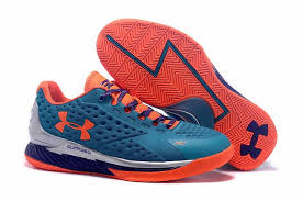 under armour shoes red and blue. under armour curry 1 low elite blue silver orange shoes red and r