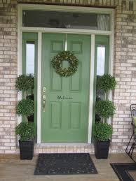 front door paint ideasGreen Front Door Paint Colors  House and Surroundings Green Front