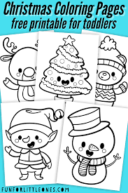Are you looking for unique christmas cards? Christmas Coloring Pages For Toddlers Free Printable