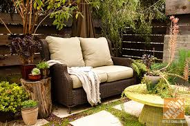 Small Patio Decorating Ideas An Urban Oasis Revisited