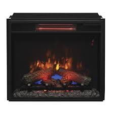 classicflame 23 in spectrafire plus infrared electric fireplace insert 23ii310gra