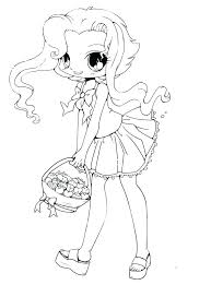 Anime Chibi Girls Coloring Pages