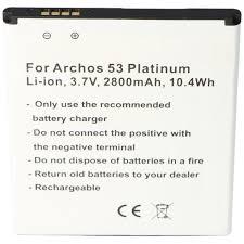 Akku passend für den Archos 53 Platinum ...