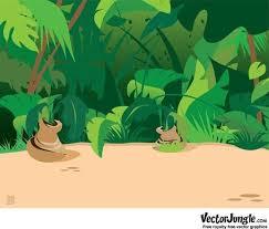 jungle background clipart. Fine Clipart Jungle Scene Background In Clipart N