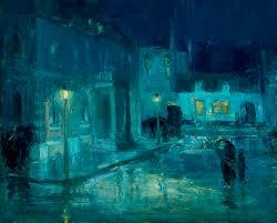william edouard scott saic 1904 07 rainy night at etaples 1912 courtesy of the indianapolis museum of art