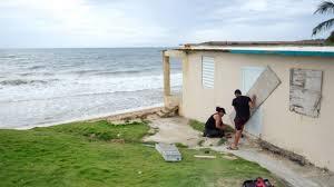 Hurricane Dorian Grazes Puerto Rico Bbc News