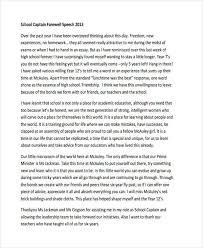 Retirement Speech Example Mesmerizing 44 Speech Examples PDF