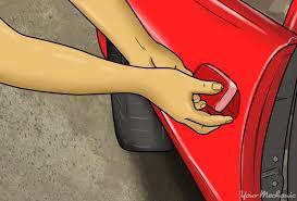 exterior car door handle