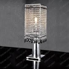 crystal table lamp crystal shade