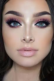 rose gold makeup for blue eyes picture 2