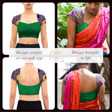 Boutique Blouse Designs 2014 Design To Reality A Pretty Sweetheart Neck Blouse With
