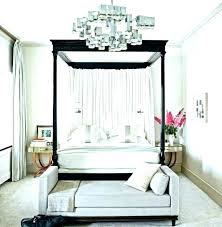 Poster Bed With Curtains Canopy Poster Bed Canopy Bed Curtains Black ...