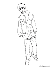 Small Picture Justin Bieber coloring page Coloring pages